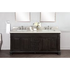 "Kingsley 72"" Double Bathroom Vanity Set"