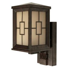Motion Activated 1 Light Wall Lantern