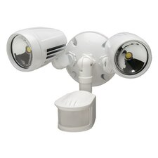 Dual Head 180° LED Motion Activated Security Flood Light