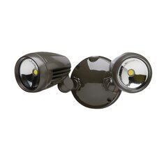 Dual Head LED Automatic Dusk To Dawn Flood Light