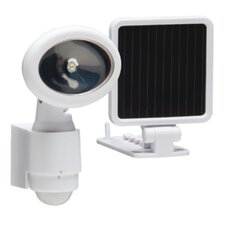Single Head 110° LED Motion Activated Solar Security Flood Light