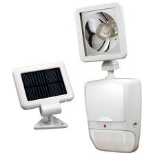 Solar Powered Motion Security Light