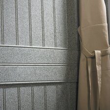 Decorative Shower Wall Panel in White