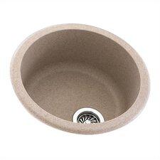 "Metropolitan 18.5"" x 18.5"" Round Bowl Kitchen Sink"