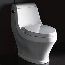 Volna Contemporary Elongated 1 Piece Toilet