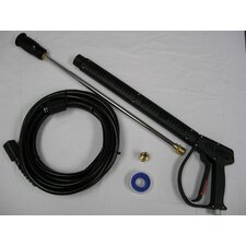 "Vented 3200 PSI Pressure Washing Gun Kit with 18"" Variable Angle Wand"