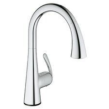 LadyLux3 Single Handle Single Hole Kitchen Faucet