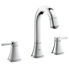 Grandera Double Handle Widespread Bathroom Sink Faucet