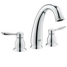 Parkfield Double Handle Widespread Bathroom Faucet