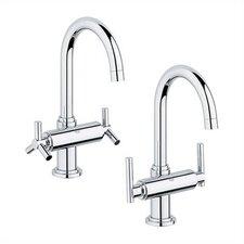 Atrio Single Hole Bathroom Faucet, Less Handles