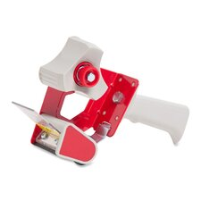 "Handheld Tape Dispenser, for 3"" Core Tapes, Red (Set of 2)"