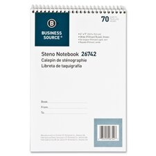 70 Sheet Steno Ruled Notebook (Set of 4)