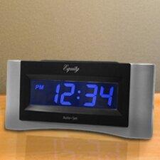 Equity Auto-Set Digital Alarm Clock