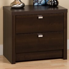 Designer Series 9 2 Drawer Nightstand