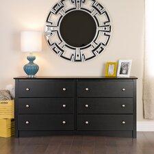 Sonoma 6 Drawer Dresser