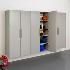 HangUps 6' H x 9' W x 1.67' D 3 Piece Storage Cabinet E Set