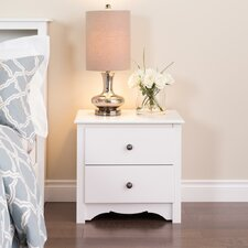 Cherry Monterey 2 Drawer Nightstand