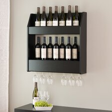 24 Bottle Wall Mount Wine Rack