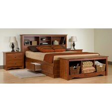 Cherry Monterey Platform Customizable Bedroom Set