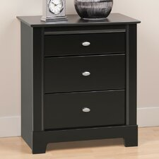 Kallisto 3 Drawer Nightstand