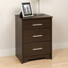 Coal Harbor 3 Drawer Nightstand