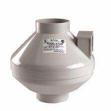 120 CFM Remote In-Line Fan