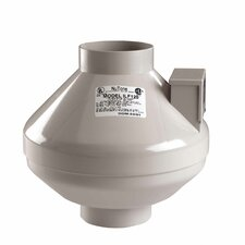 130 CFM Remote In-Line Fan