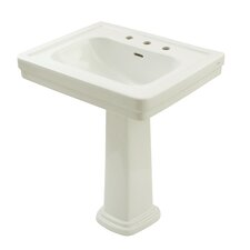 "Promenade 27.5"" Pedestal Bathroom Sink"