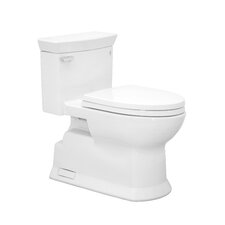 Soirée Eco 1.28 GPF Elongated 1 Piece Toilet with SanaGloss