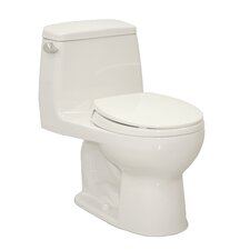 UltraMax Eco 1.28 GPF Round 1 Piece Toilet with SoftClose Seat