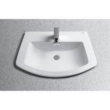 Soirée Self Rimming Bathroom Sink
