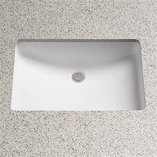 Augusta Decorative Undercounter Bathroom Sink with SanaGloss Glazing
