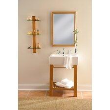 """24"""" Single Wall Mounted Bathroom Vanity Set"""