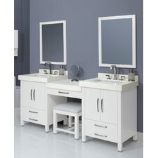 "Cameron 74"" Double Bathroom Vanity Set"