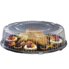 Round Catering Tray with Dome Lid