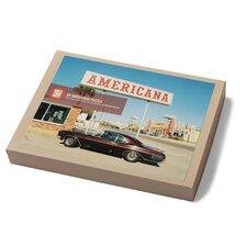Americana 550 Piece Puzzle