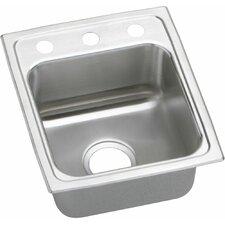 """Lustertone 15"""" x 17.5"""" Gourmet Kitchen Sink"""