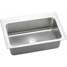 "Gourmet 33"" x 22"" Top Mount Kitchen Sink"