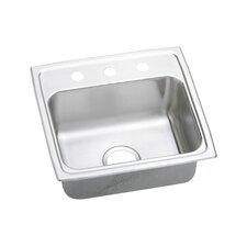 """Lustertone 19.5"""" x 19"""" Gourmet Kitchen Sink"""