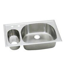 "Harmony 33"" x 22"" Top Mount Kitchen Sink"