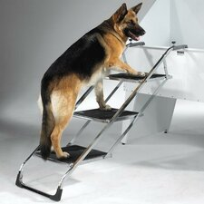 Non Skid 4 Step Pet Stair