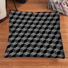 Sketch Cubes Floor Pillow