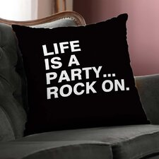 Life is a Party Throw Pillow