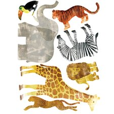 Wild Animals Wall Decal