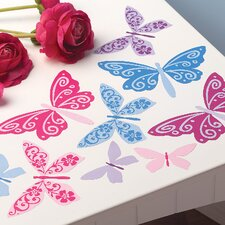 Flutterbyes Wall Decal (Set of 4)