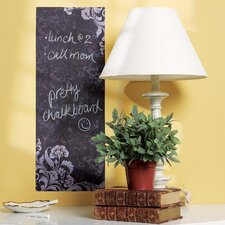 Frilly Chalkboard Wall Decal