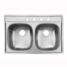 Noble Double Bowl Kitchen Sink