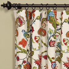 Bayliss Rod Pocket Single Curtain Panel