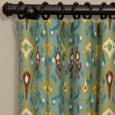 Hathaway Linen Rod Pocket Single Curtain Panel
