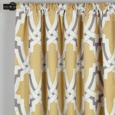Davis Cotton Single Curtain Panel